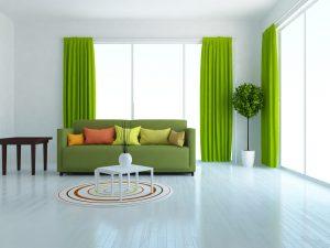 Que colores de cortinas combinan con paredes blancas