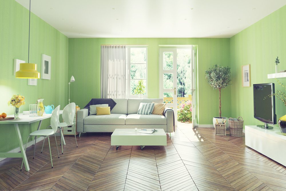 Ideas Para Elegir Las Cortinas Para Paredes Verdes