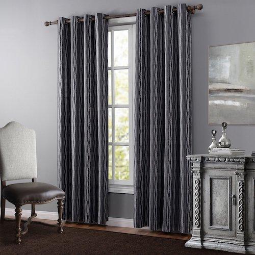 Cortinas salon moderno best bonitas cortinas lisas color - Cortinas de salon ...
