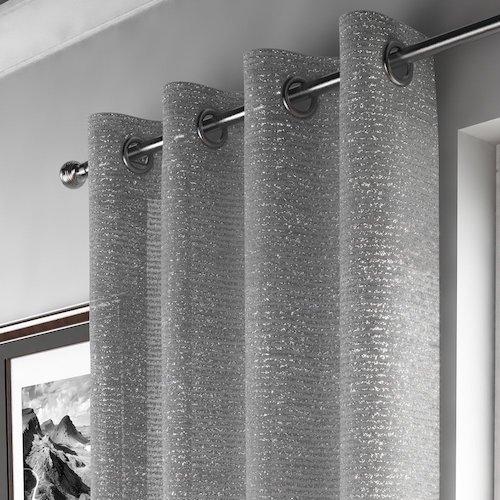 cortinas de diseo para saln con efectos - Cortinas Salon