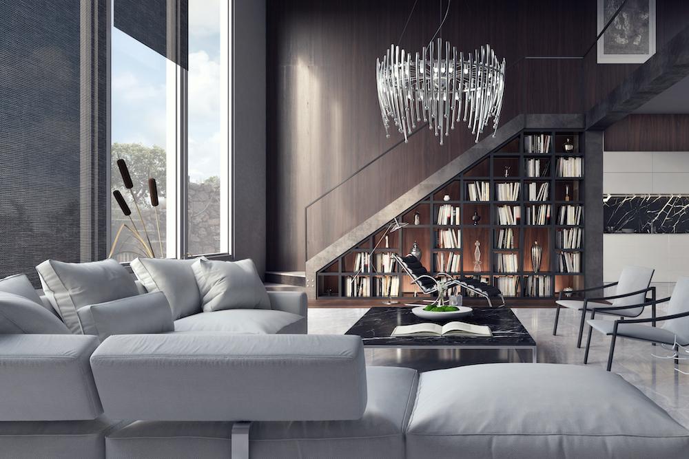 Actualiza tu salón con un estilo más moderno con estas ideas